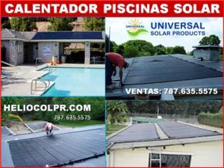 HELIOCOL - CALENTADOR SOLAR PARA PISCINAS OOO, Puerto Rico