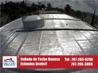 SELLADOR PARA TECHOS DANOSA, Puerto Rico