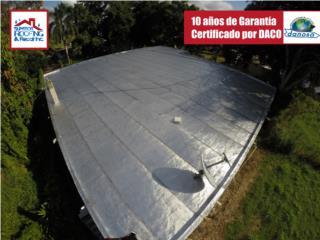SELLADO DE TECHO - DANOSA GARANTIA 10 AÑOS , Puerto Rico