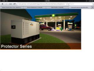 Generadores Diesel, Puerto Rico