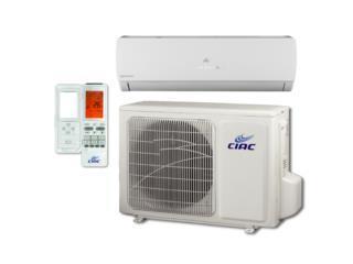 inverter aire acondicionados 24000 btu ciac, Puerto Rico