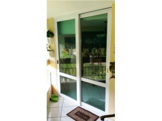 Sliding Door Heavy Seguridad Full Glass 60x96, Puerto Rico