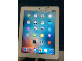 Tableta iPad blanca 32 gb, Puerto Rico