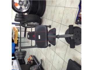 Banco de ejercicios con pesas incluidas, Puerto Rico