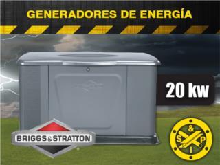 Prepárate con Generadores de Gas (20kw), Puerto Rico