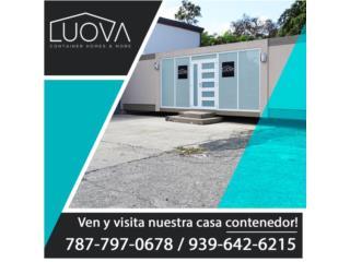 Casas, Restaurantes, Oficinas Contenedores , Puerto Rico