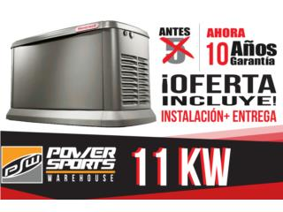 11 kw Gas Propano ***OFERTA*** TODO INCLUIDO, Puerto Rico