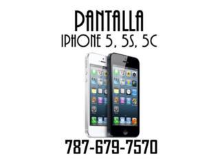 Pantalla LCD iPhone 5, 5C, 5S $37, Puerto Rico
