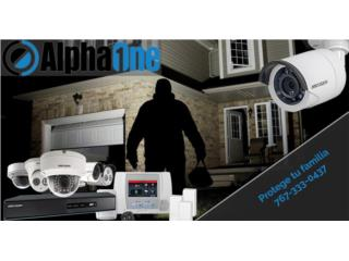 Alarma inteligente 4 cámaras Hikvision 1080HD, Puerto Rico