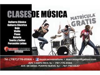 Music Access Academy Matrícula Gratis!!, Puerto Rico