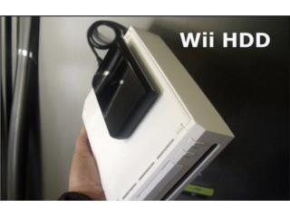 400 juegos para Wii en Disco Duro, Puerto Rico