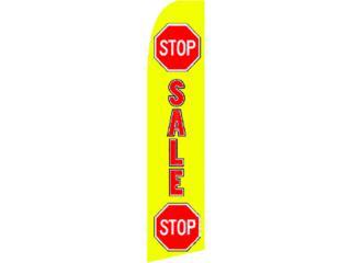 Banner Stop Sale  2.5 x 11, Puerto Rico