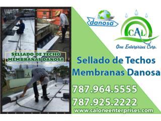 Mantenimiento en Sellado de Techo Danosa, Puerto Rico
