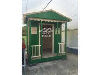 Casas de muñecas en madera para patio, Puerto Rico