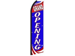 Banner Gran Opening 11.5 x 2.5, Puerto Rico