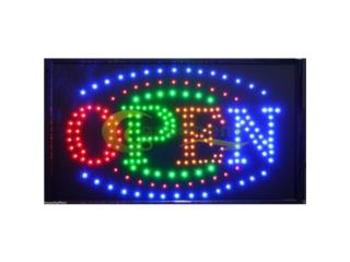 LED Open Sign 24 x 13, Puerto Rico