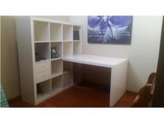 Wall unit with desk, Puerto Rico