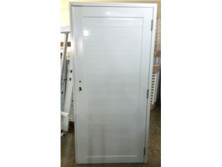 Puerta Aluminio Regular Sólida 36x84, Puerto Rico