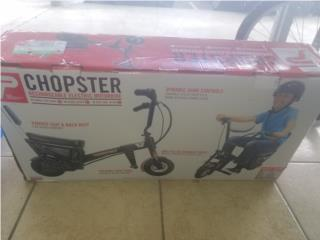 CHOPSTER MOTORBIKE ELECTRIC, Puerto Rico