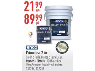 ENCO PRIMELESS 2 IN 1, Puerto Rico