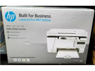Printer HP Láser Jet Pro M26nw nuevo!!!, Puerto Rico