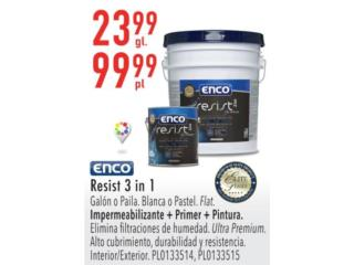 ENCO RESIST 3 IN 1, Puerto Rico
