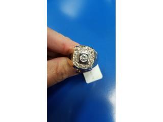 MEN RING GOLD WITH DIAMOND 14k, Puerto Rico