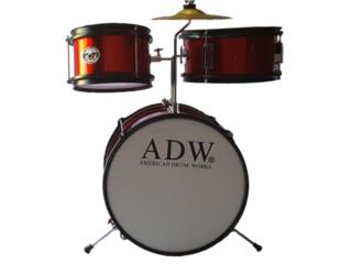ADW BABY DRUMS 3PC, Puerto Rico