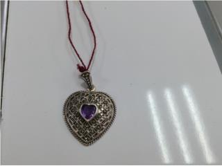 corazon violeta marquesitas, Puerto Rico