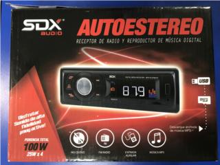 Radio de auto SDX, Puerto Rico