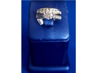 Lady's Gold-Diamond Wedding Band: 5.7D 14K, Puerto Rico
