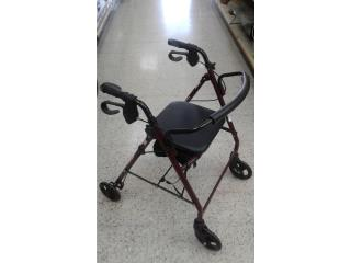 Andador con ruedas para impedidos, Puerto Rico