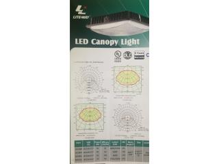 LED CANOPY LIGHT  40W/70W, Puerto Rico