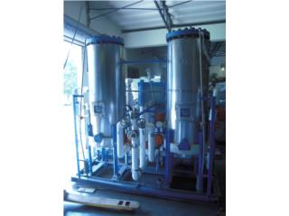 US Filter Industrial 75 GPM Mixed Bed Deioniz, Puerto Rico