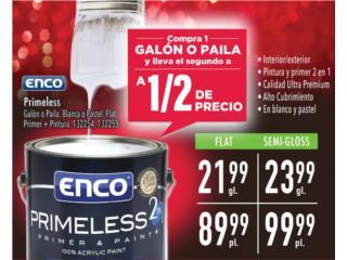 Pintura compra 1 lleva otra 1/2 precio , Puerto Rico
