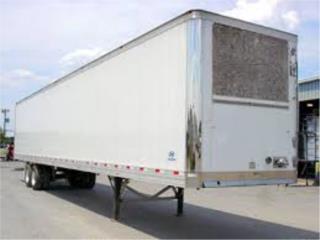 Vagones refrigerados aluminio 40 pies chasis, Puerto Rico