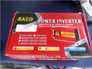 Power Inverter 800 watts, Puerto Rico