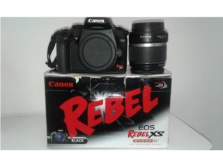 Camara Canon Rebel, Puerto Rico