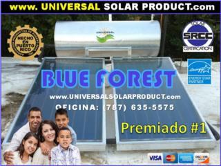 Calentadores Blue forest® | Cert. Huracanes, Puerto Rico
