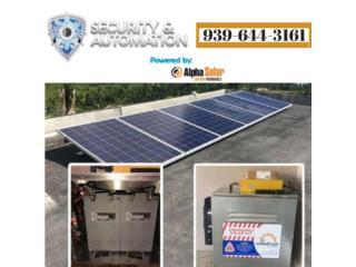 Planta Electrica Solar para Emergencias , Puerto Rico