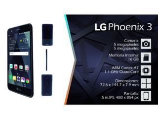 LG PHOENIX 3 UNLOCK POR SOLO $99, Puerto Rico
