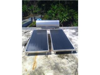 Calentador solar de 2 placas grandes 82g, Puerto Rico