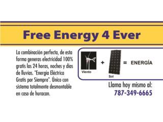Anade una turbina de viento a tu planta solar, Puerto Rico