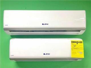 Airmax 12,000 Seer 18 blanca desde $499, Puerto Rico