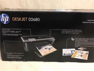 Liquidación LOTE de PRINTERS HP DESKJET D2680, Puerto Rico