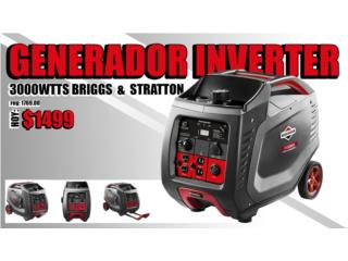 Generador Briggs & Stratton Inverter 3000W, Puerto Rico