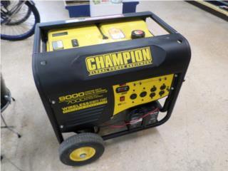 Champion Generador 9000watts, Puerto Rico