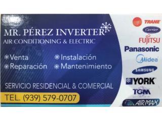 Aires Inverter Residencial & Comercial, Puerto Rico