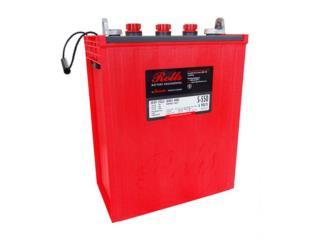 Baterias Rolls L16 de 428 ah 7 año garantia, Puerto Rico