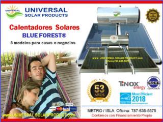 8 MOD/ CALENTADOR UNIVERSAL / CERT. HURACANES, Puerto Rico